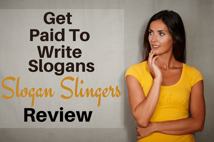Slogan Slingers Review Get Paid To Write Slogans