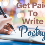 Get Paid To Write Poetry