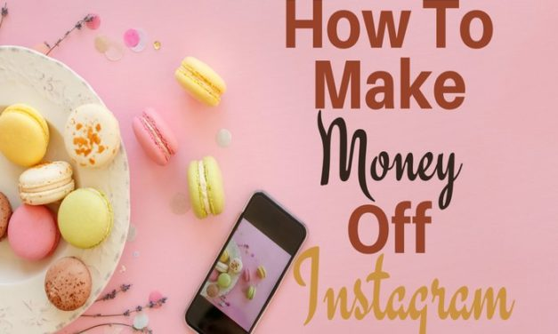 How to make money off Instagram