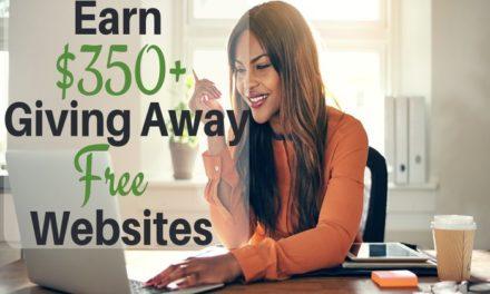 Make Money Giving Away Free Websites